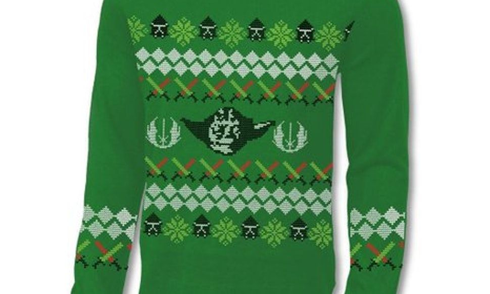 star wars ugly christmas sweaters will bring the force to your family holiday dinner - Ugly Christmas Sweater Star Wars