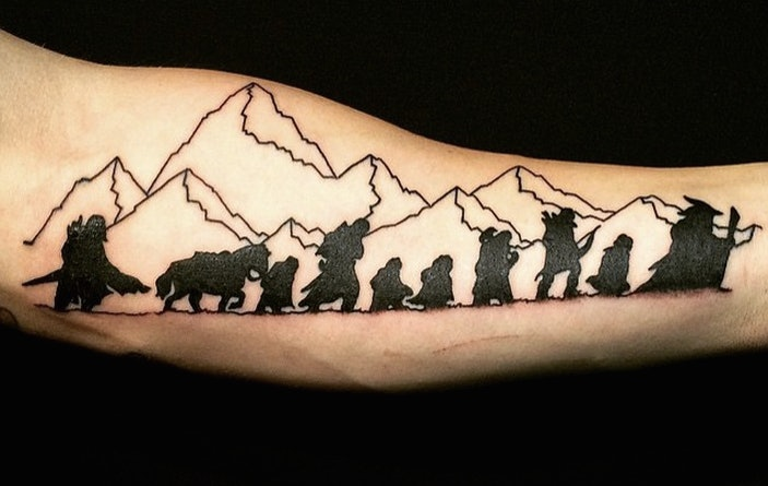 9 Timeless Lord Of The Rings Tattoos So Your Love For The Classic Story Never Has To Die