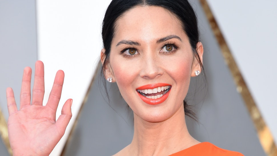 33df03f58a Olivia Munn Just Reminded Us Why The Leather Mini Dress Will Never Go Out  Of Style — PHOTOS