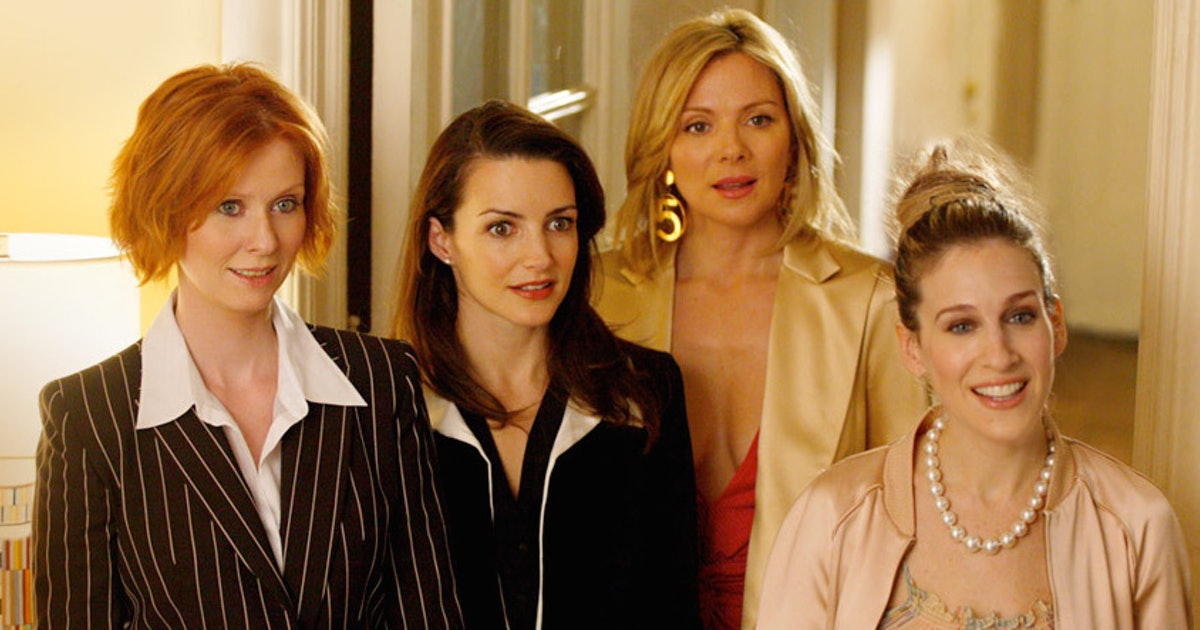 four characters in sex and the city in Wyong