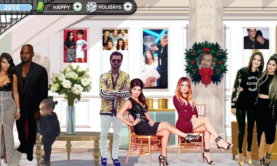 The Kardashians\' 2014 Christmas Card Doesn\'t Exist, So We Made One ...