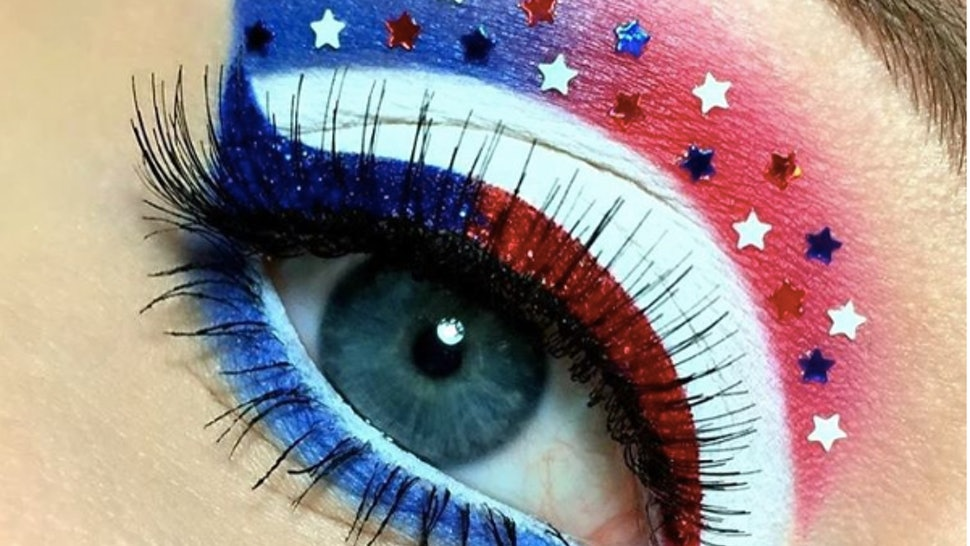9 Fourth Of July Makeup Looks To Celebrate The Holiday With Pride & Style — VIDEOS