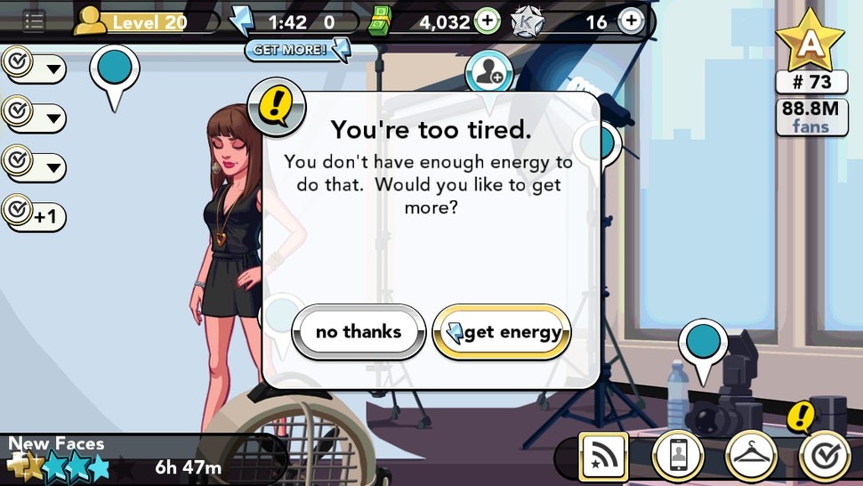 How to Get Full Energy in the Kim Kardashian iPhone Game So