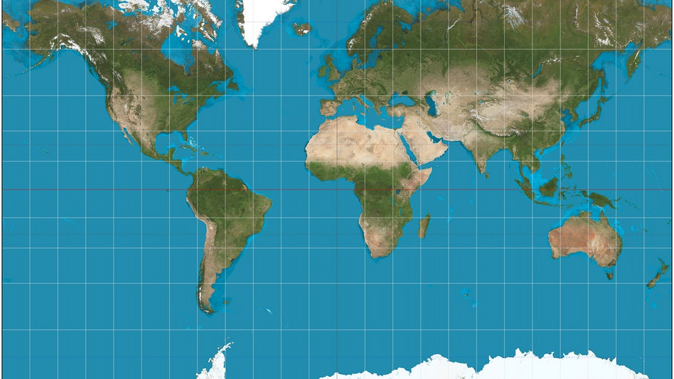 The \'True Size Map\' Shows Us Everything We Thought We Knew About ...