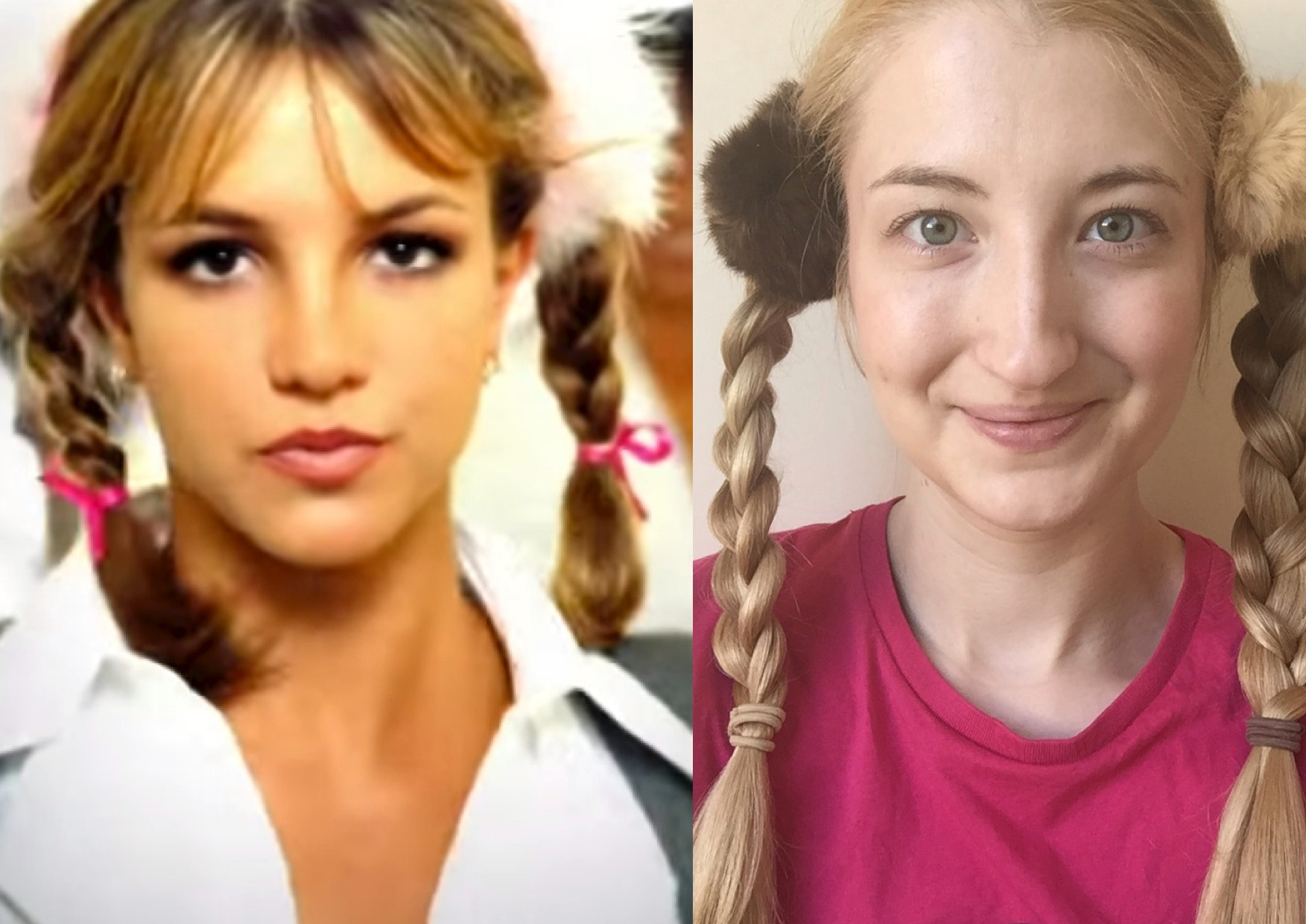 I Recreated 5 Britney Spears Hairstyles At Home To Get My Oops I