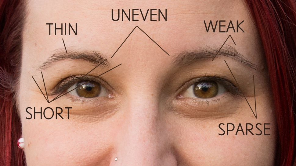 bfa66d58760 On Fleek Eyebrows Aren't A Reality For Everyone, But Here's Why You Should  Love Your Off Fleek Ones Anyway