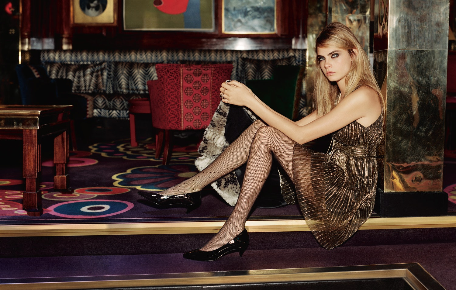 Delevingne cara for topshop holiday campaign forecast dress in spring in 2019