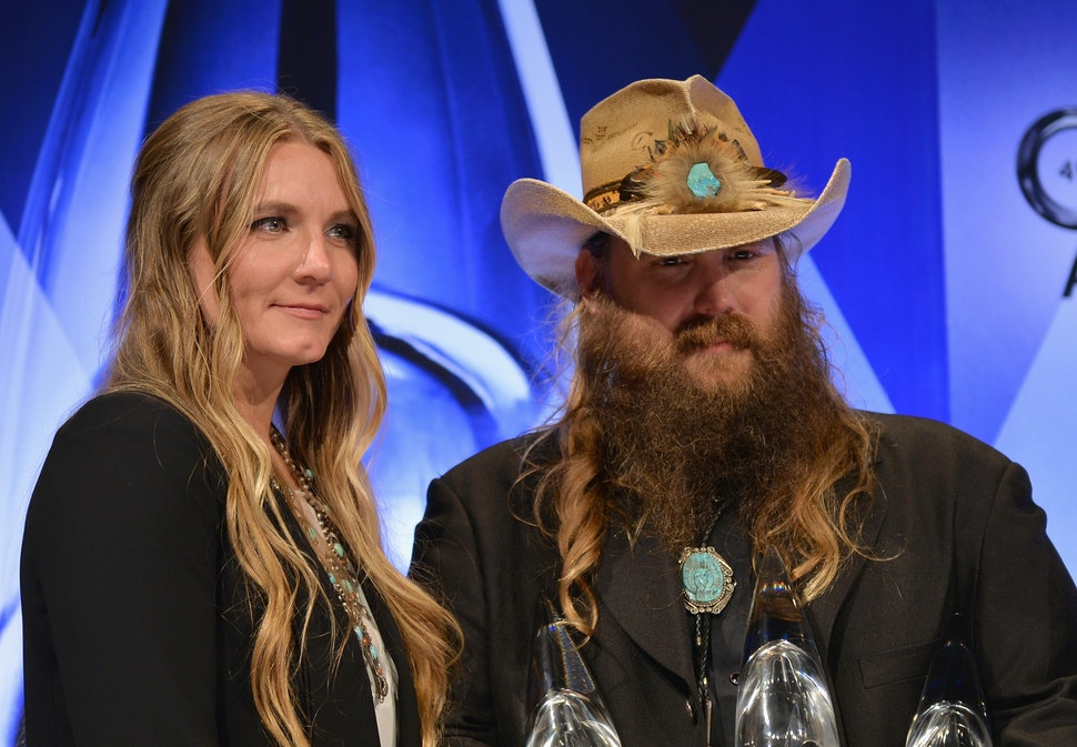 De tournees van Chris Stapleton is een familie ding