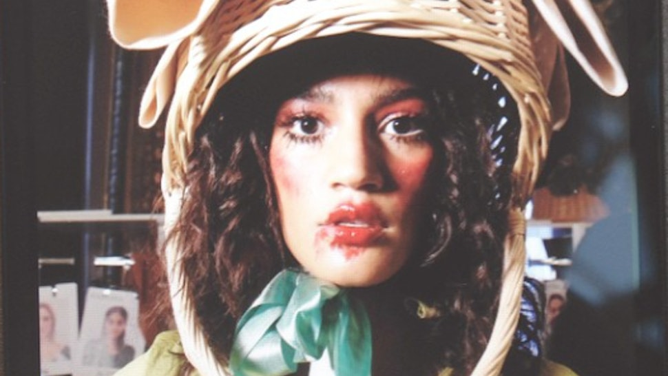 The Vivienne Westwood Basket Hats Are Straight Up Manic-Pixie-Dream-Girl  Headgear f9b341b3a5d