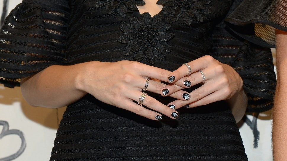 11 Creative Ways To Wear Black Nail Polish