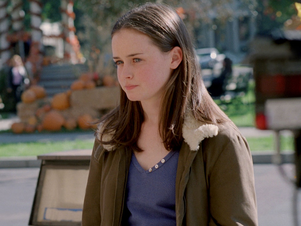 Rory on gilmore girls