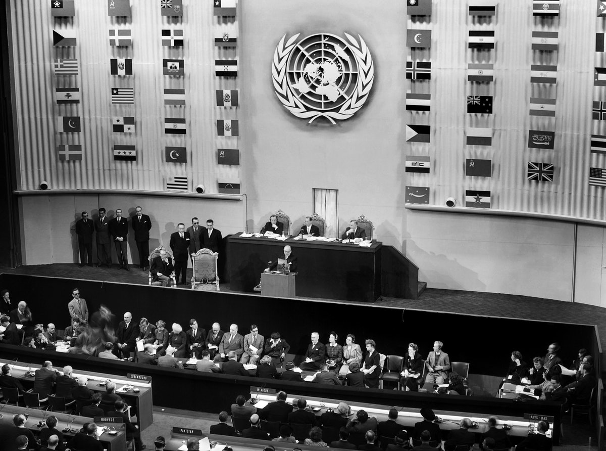 The First Woman To Ever Address The United Nations
