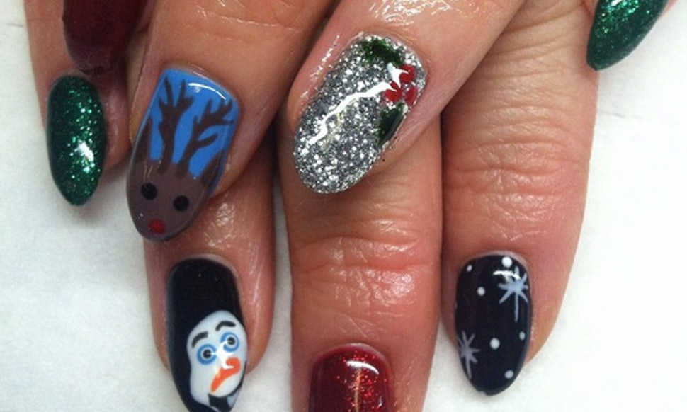 Christmas Nail Art For Every Skill Level So You Can Have A Holly
