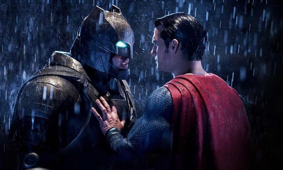 the batman v superman reference in captain america civil war