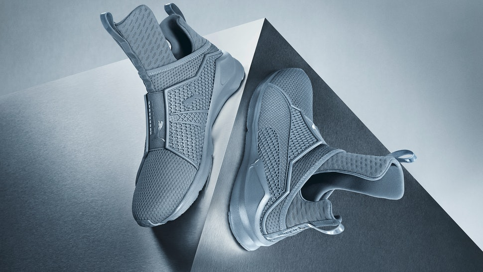 When Will The Grey Rihanna x Puma Fenty Trainers Be Available  The Wait  Isn t Long 4d3389fbf