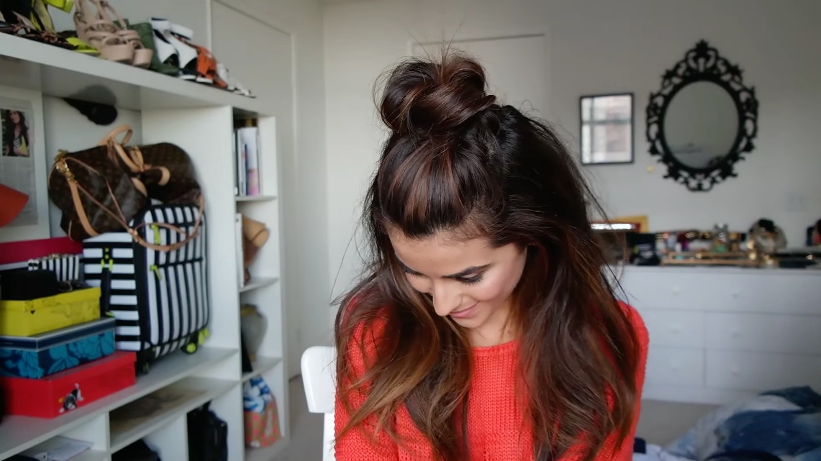 Watch - How to your wear hair without bangs video