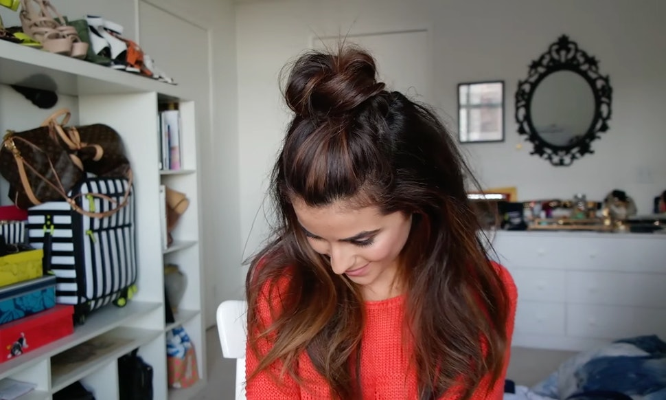 10 Quick Easy Greasy Hairstyles For When You Cant Be Bothered To