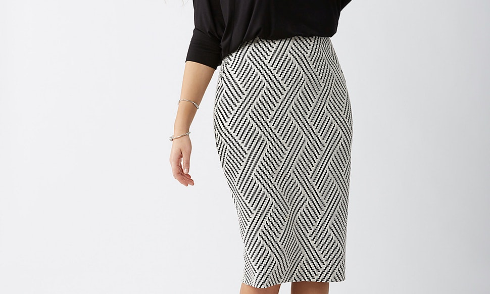 7 Plus Size Pencil Skirts To Take Your Style From Summer To Fall
