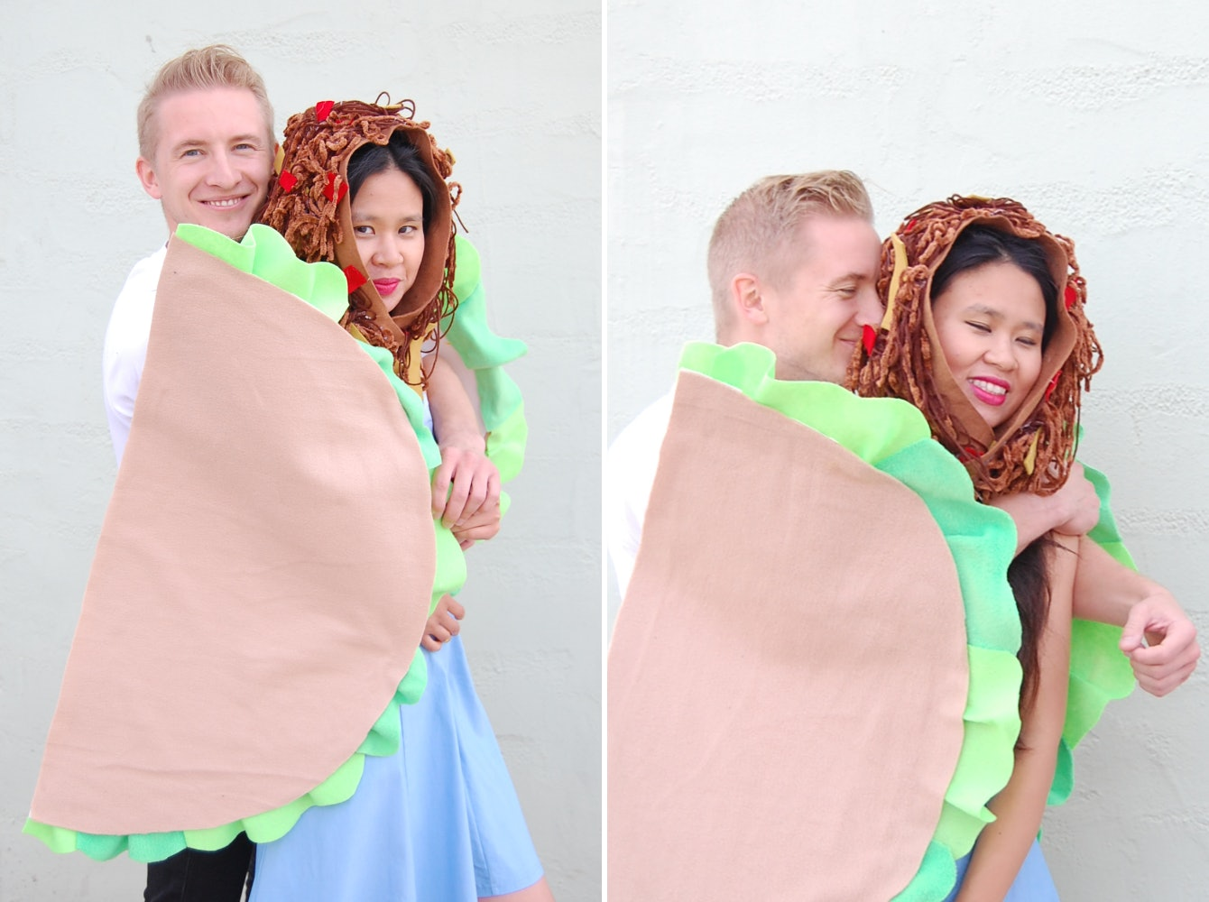 sc 1 st  Bustle & A Taco Halloween Costume Idea For Couples That Is Too Cute For Words