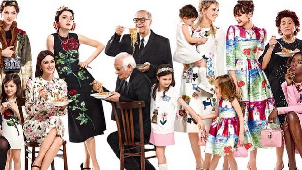 Dolce   Gabbana Fall Winter 2016 Campaign Celebrates Family 4630566bb9d