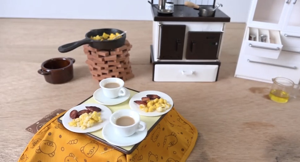 This Is How You Cook A Tiny Breakfast With Tiny Food In A Tiny Kitchen Because Food Should Be Delicious And Adorable Video