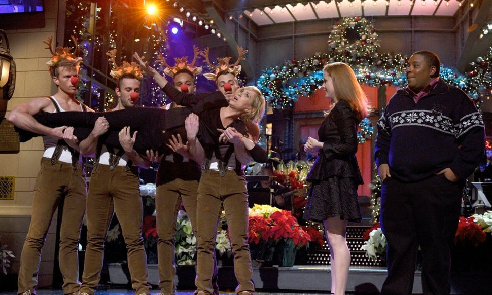 is the 2014 snl christmas special a new episode maybe you shouldnt cancel those holiday party plans after all