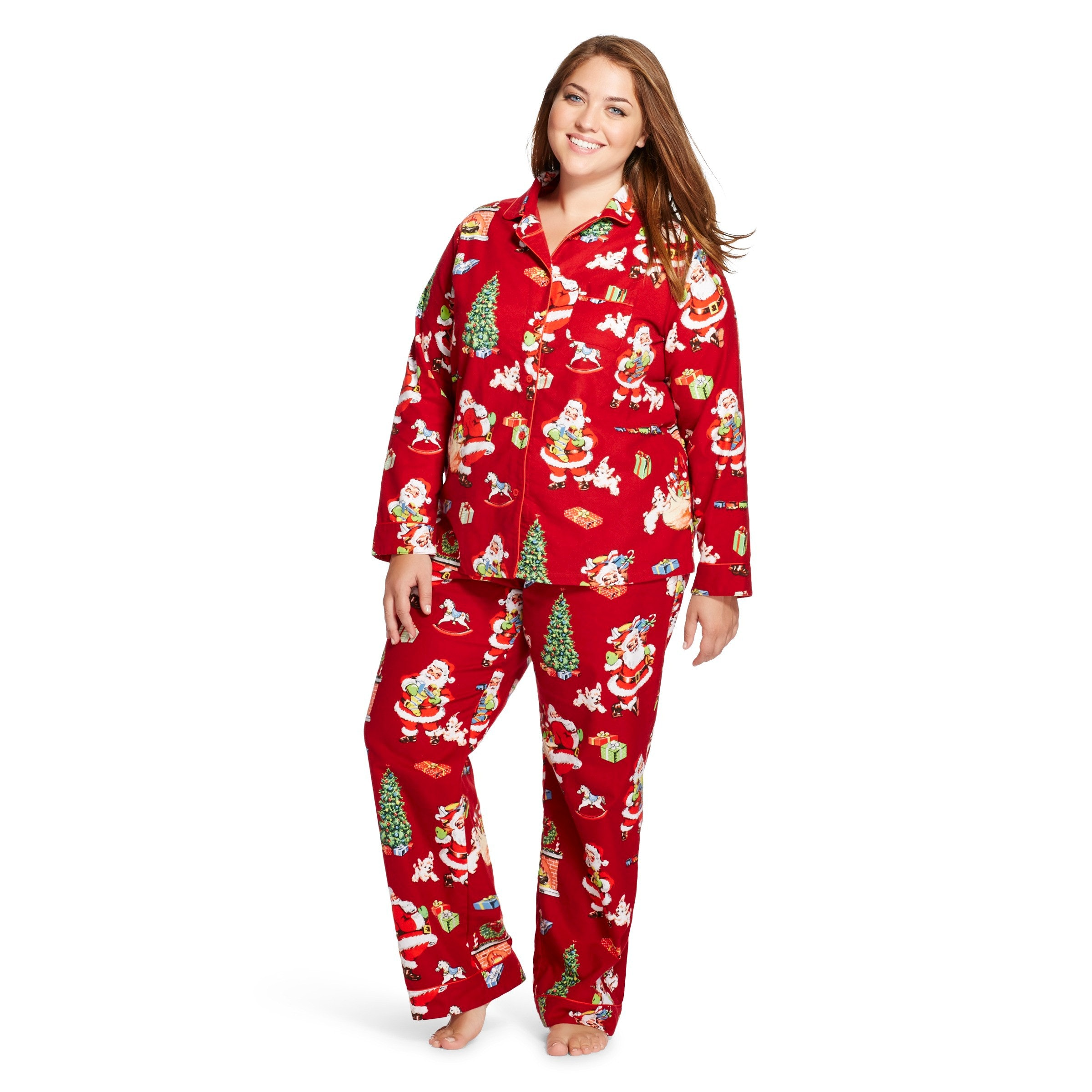 9 cozy holiday pajamas for opening gifts sipping on eggnog photos - Womens Christmas Nightgowns