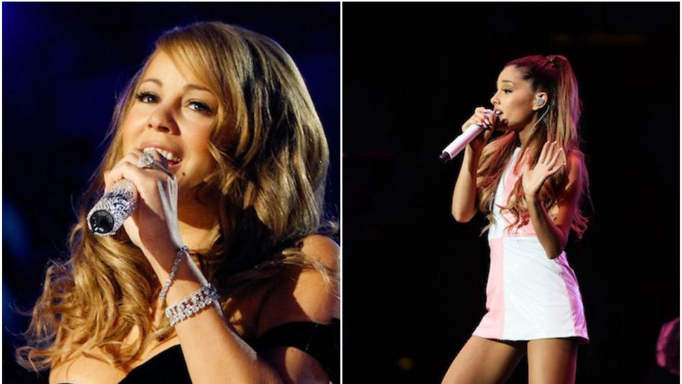 Ariana Grande Vs Mariah Carey Can You Tell The Difference