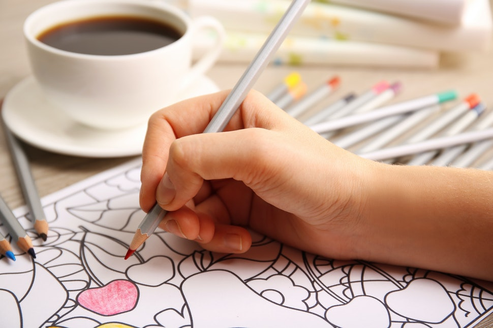 Coloring Books For Adults Are Popular But Do They Work