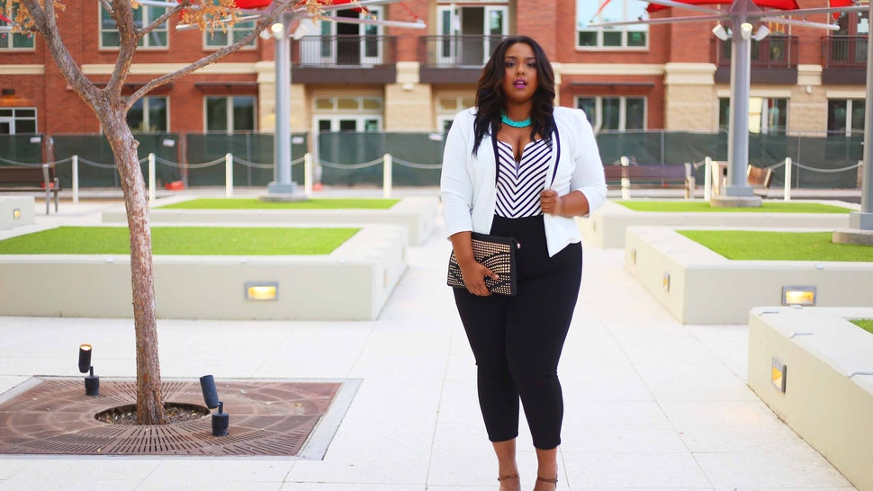 4fbdf3618e5 15 Plus Size Bloggers In Jumpsuits Who Prove This Fall Favorite Has No Size  Limit