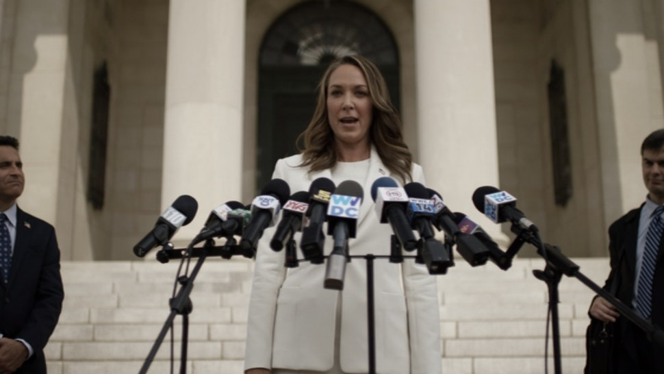 Heather Dunbar Is Running For President In House Of Cards Season 3