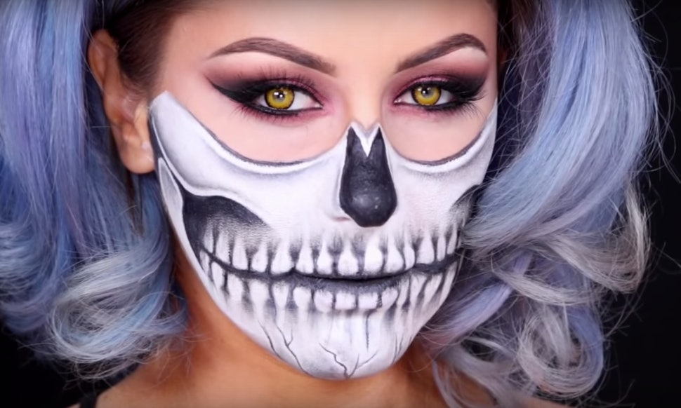 10 halloween costumes that use makeup only because finding a full look is rough videos
