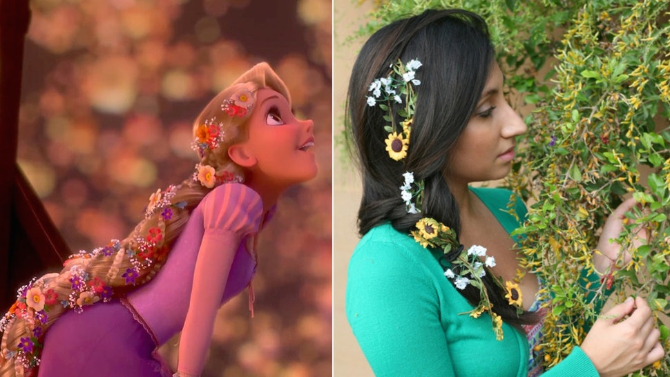 12 Wedding Hairstyles Inspired By Disney Princesses For A Fairytale
