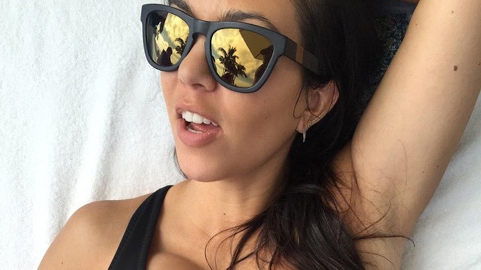 6be2086cf12 8 Kourtney Kardashian Sunglasses To Rock This Summer