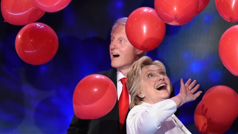 These Bill Hillary Clinton Balloon Drop Memes Gifs Will Make You