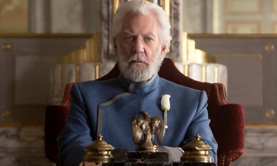 Image result for professor snow the hunger games