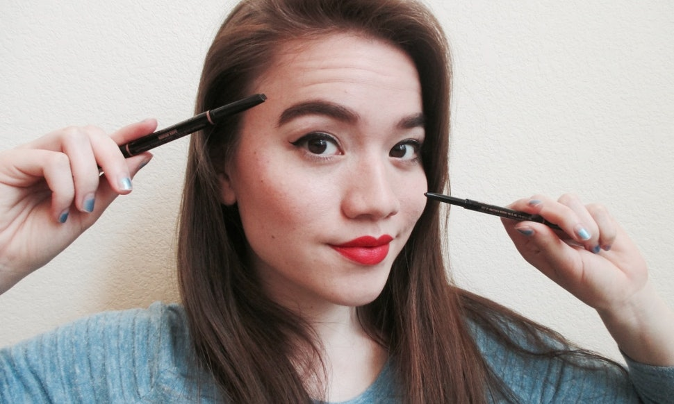 Should You Use An Angled Or Pointed Eyebrow Pencil Heres How To Pick