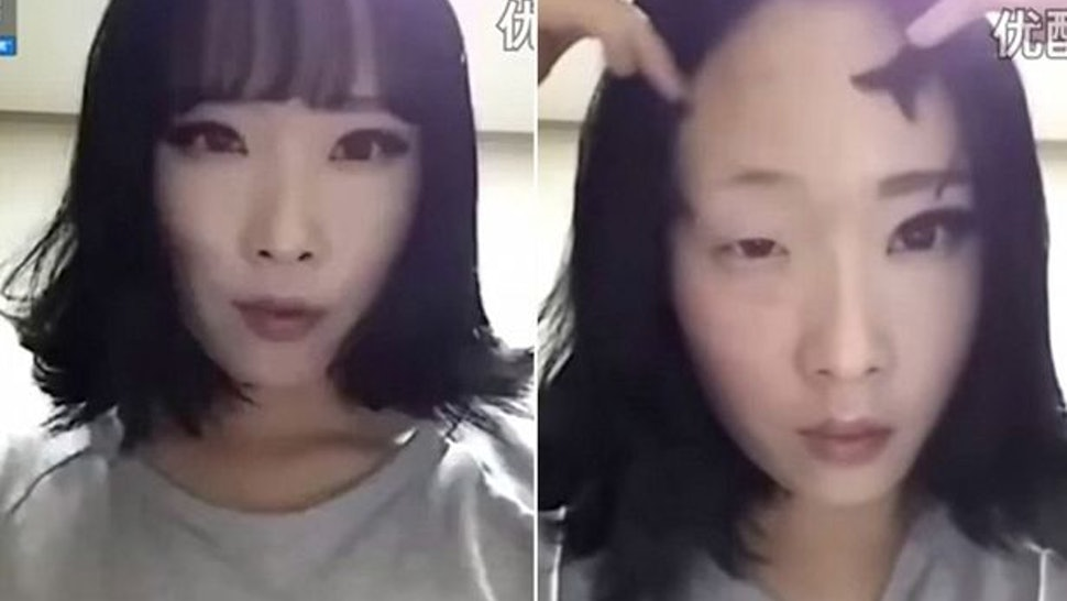 A South Korean Woman Removing Her Makeup Goes Viral But Theres
