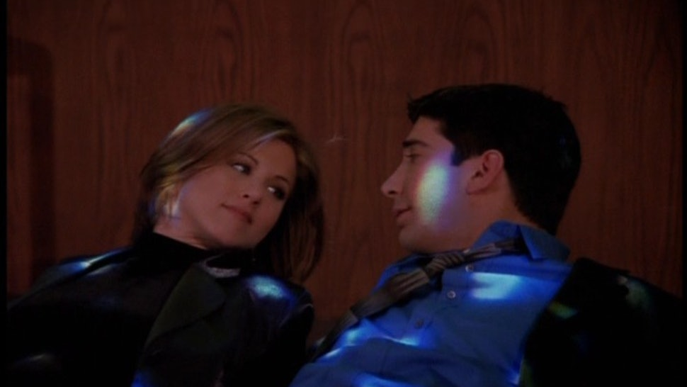 ross and rachel dating in the museum