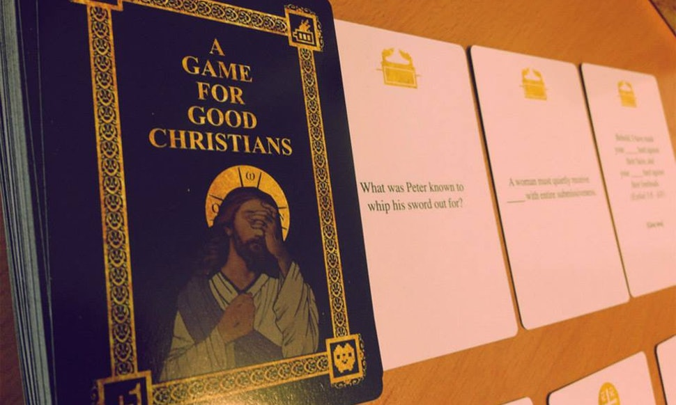 This Cards Against Humanity Game For Good Christians Is Funnier