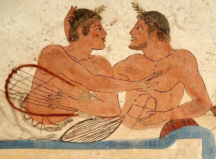 Greek symposium homosexuality