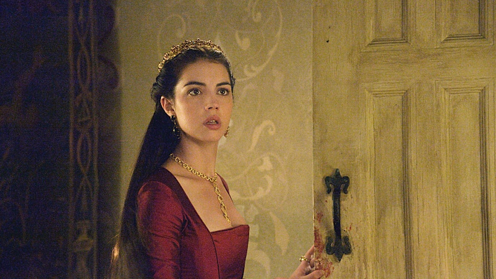 Mary Is Pregnant On Reign And Lola Totally Calls Her Out Her