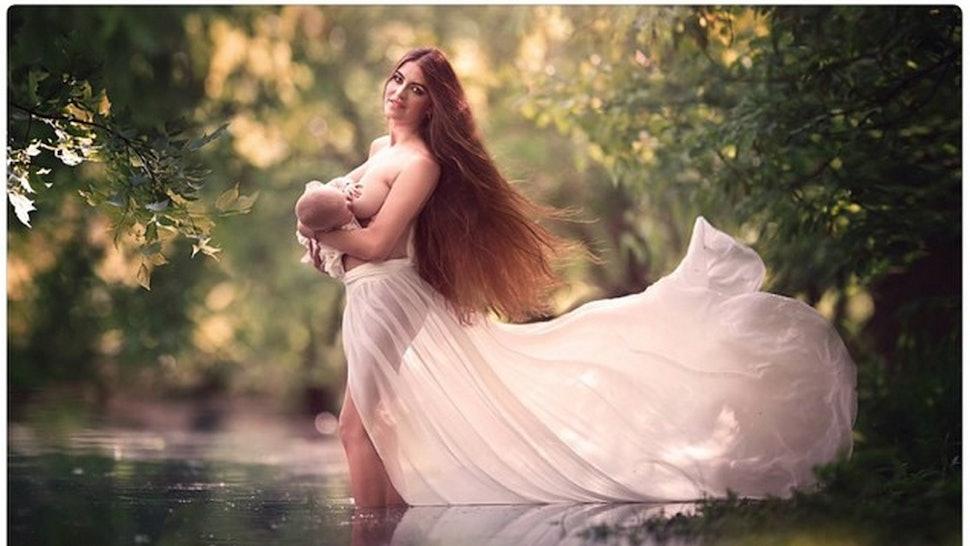 Mum says shell miss breastfeeding her NINE-YEAR-OLD