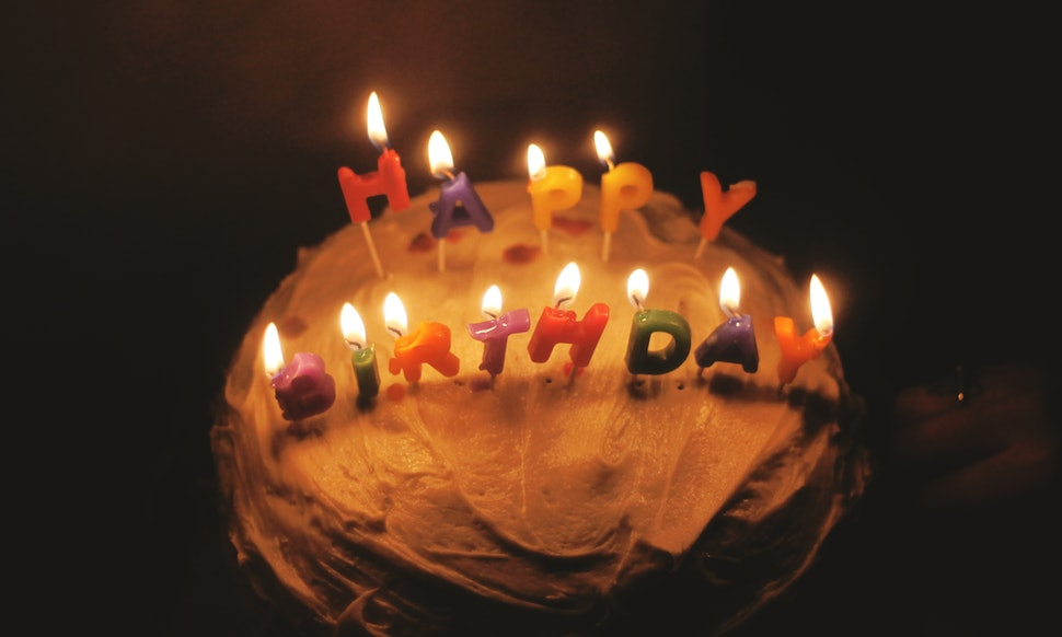 Blowing Out The Candles On Your Birthday Cake Is Actually Really