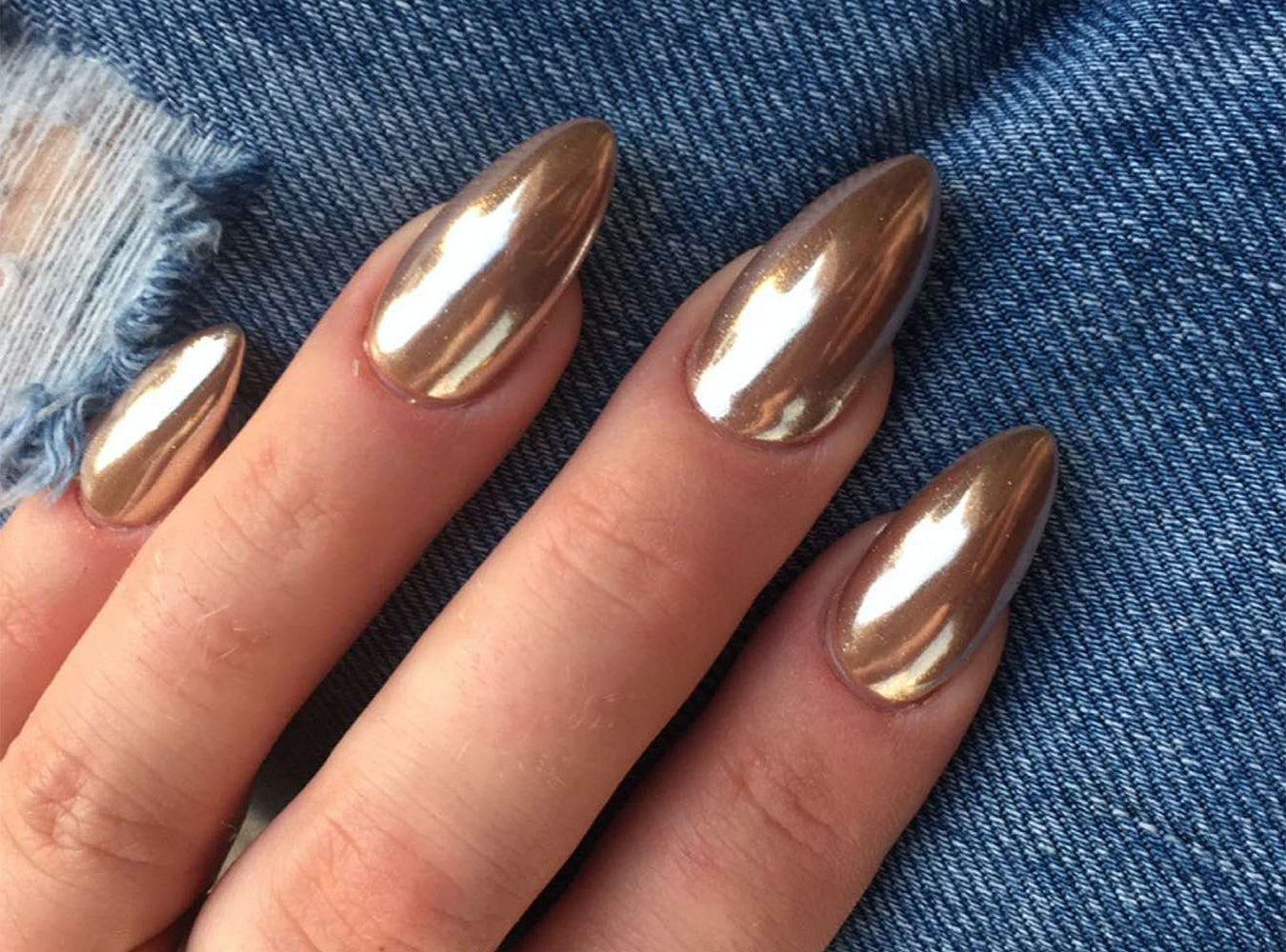 How to get chrome nails so you can have the most ba manicure ever how to get chrome nails so you can have the most ba manicure ever videos geenschuldenfo Images