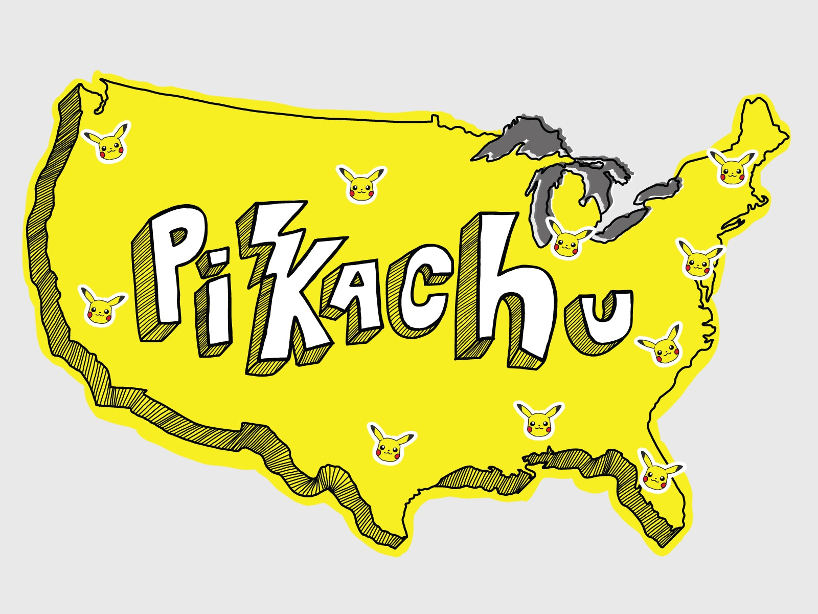 Where To Catch Pikachu In \
