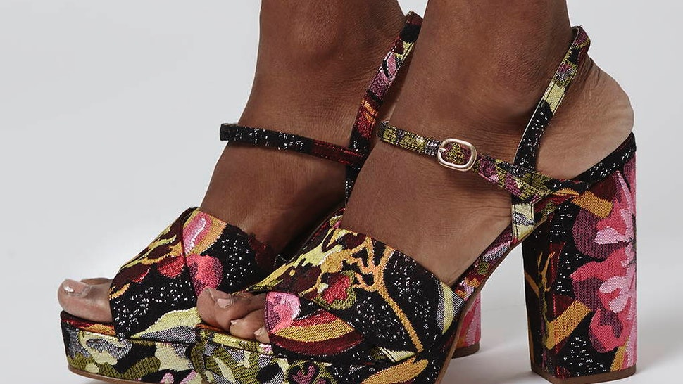 e79d4fac7e9 23 Platform Shoes To Rock This Spring Because Prints   Flatforms Are  Everything — PHOTOS
