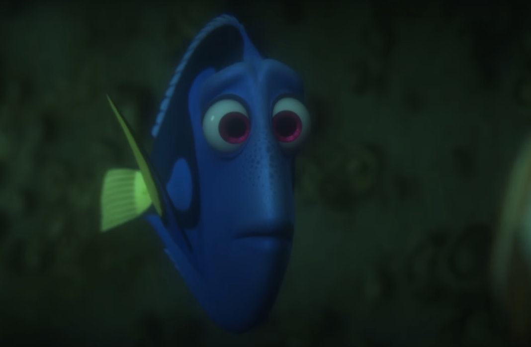 Image result for finding nemo Dory looking concerned