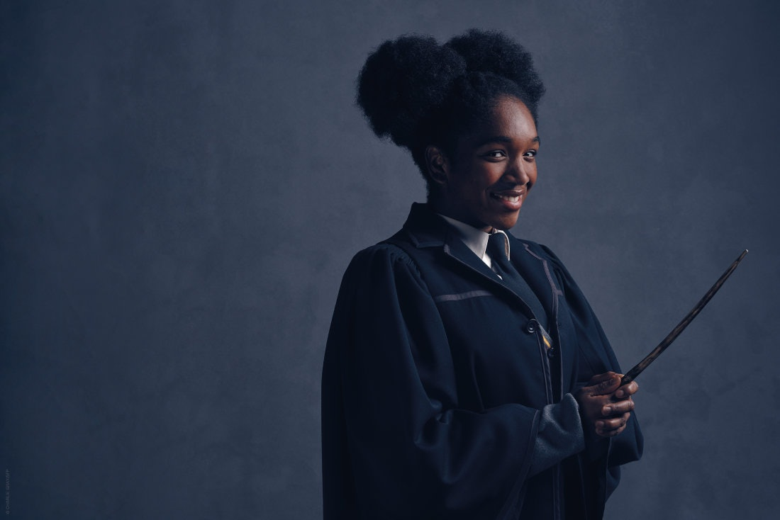 Harry Potter Camera Crew In View : Who is playing rose weasley in cursed child cherrelle skeete