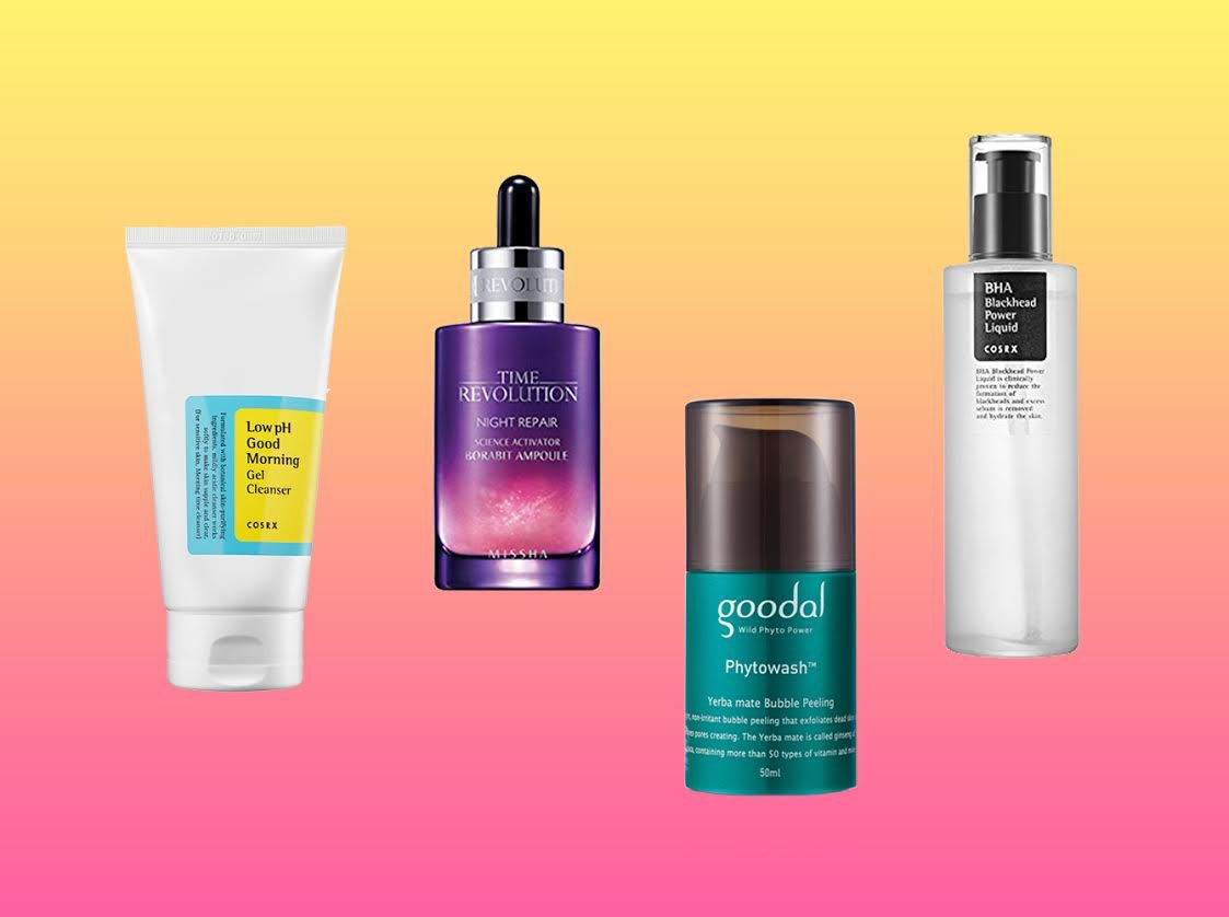 top korean skin care products